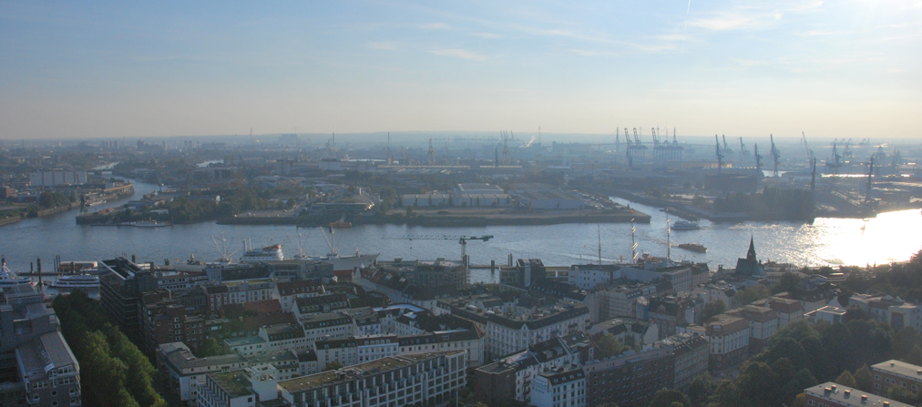 Hamburg: A ride on the river and a walk in the park